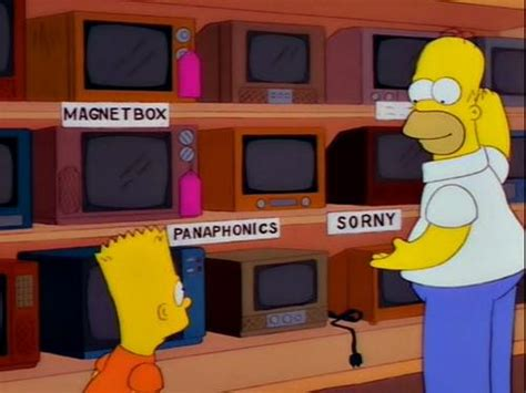 funny products spotted   simpsons
