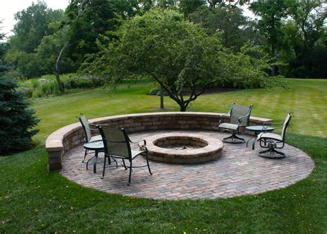 patio firepit pit patio