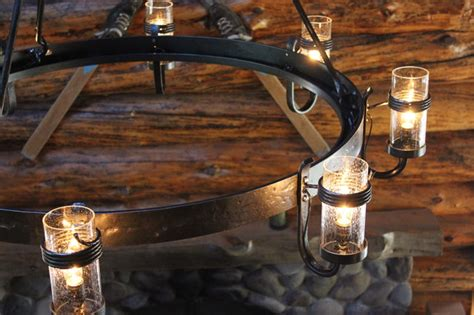 Log Cabin Chandeliers by Cabin Chandelier Rustic Chandeliers Other Metro By