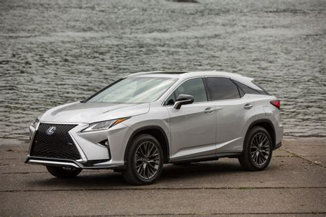lexus hybrid 2016 2016 lexus rx hybrid f sport drive