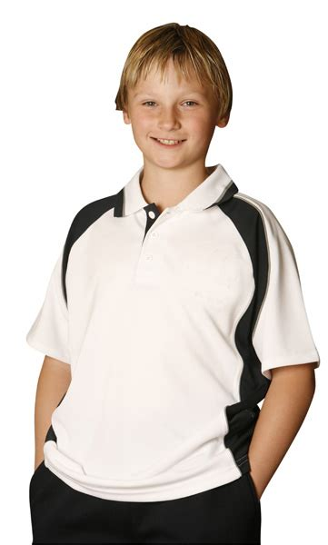 Set 3in1 Vest Kid mascot cooldry sleeve contrast polo wow