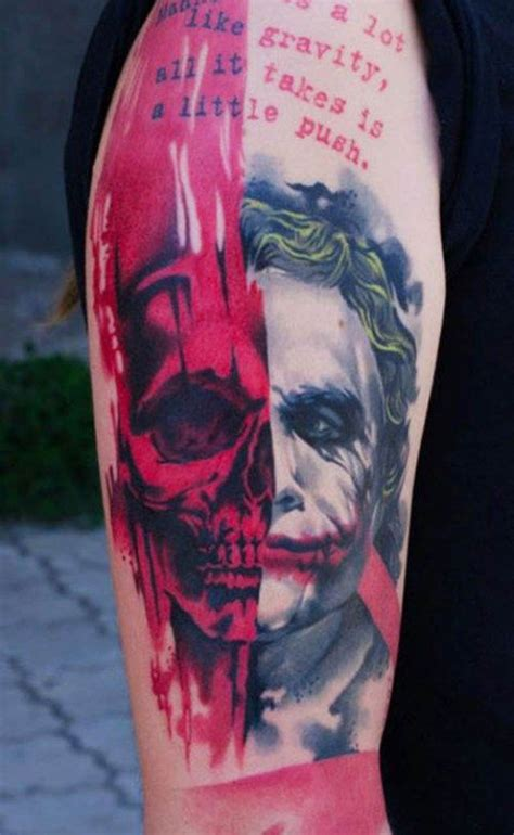 joker harley tattoo 25 best ideas about joker tattoos on joker