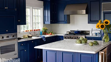 kitchen colors with blue furniture home combo
