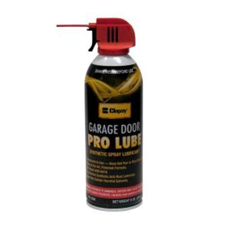 Synthetic Spray Lubricant For Garage Doors 4121571 On Garage Door Lubricant Spray