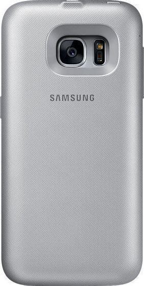 Samsung Backpack Wireless Charger Cover For Galaxy S7 Hitam Original samsung inductive charging backpack cover silver g935f