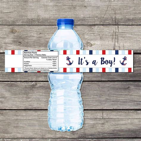 Water Bottle Labels For Baby Shower by 18 Ideas For Baby Shower Labels Notes