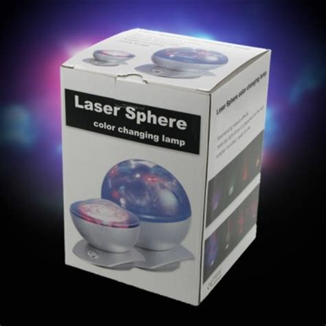 laser sphere projector colour change l
