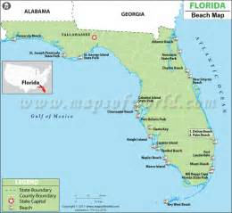 florida beaches map best beaches in florida map of