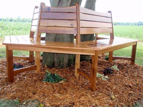 bench around a tree plans pdf diy wrap around tree bench instructions download