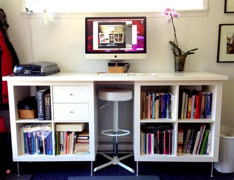 turn your desk into a stand up desk 8 inexpensive diy standing desks you can make yourself