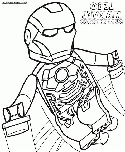 avengers coloring pages online lego marvel avengers coloring pages for kids and toddler