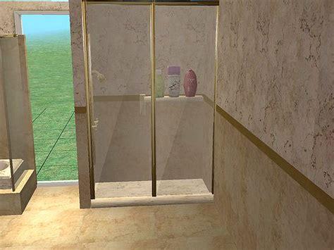 mod luxurious 2tile backless shower