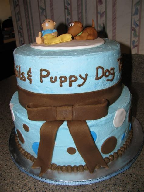 Snips And Snails And Puppy Tails Baby Shower by 17 Best Images About Cakes Baby On Baptism