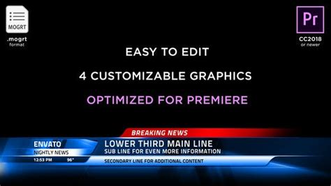 Premiere Pro News Template Breaking News Template Picture Pictures Printable Template Calendar 2018