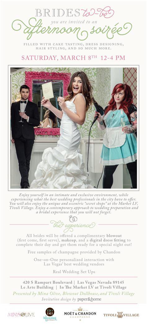 Afternoon Bridal Soirée at Tivoli Village Las Vegas   Paper and Home