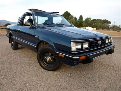 how to sell used cars 1986 subaru brat electronic toll collection 1986 subaru brat runs well excellent body paint and interior cold ac