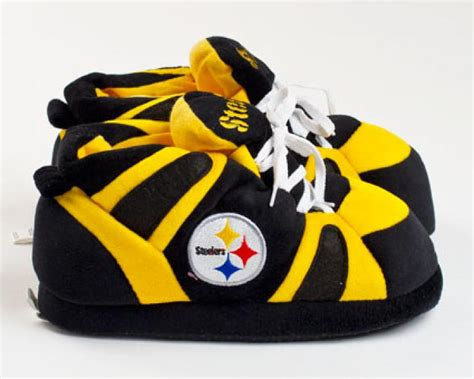 steelers house shoes pittsburgh steelers slippers sports team slippers novelty slippers