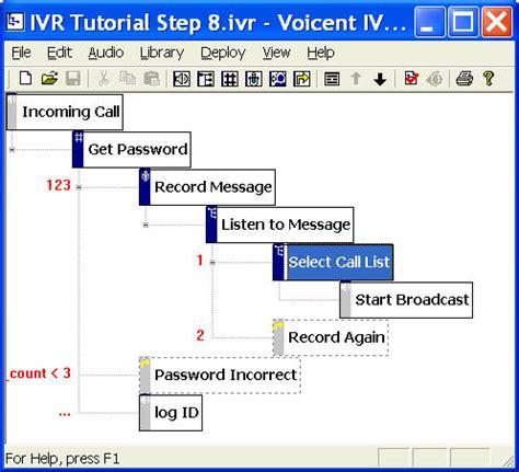 ivr flow diagram ivr tutorial update ivr call flow