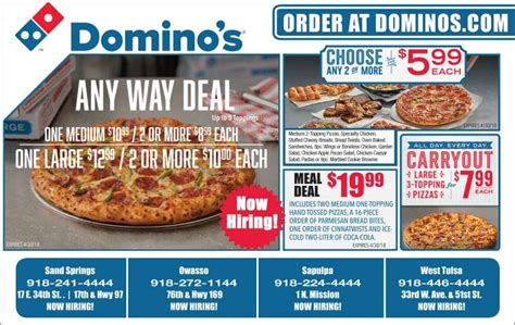 Handmade Pan Pizza Coupon - domino s pizza coupons deals save at valuenews