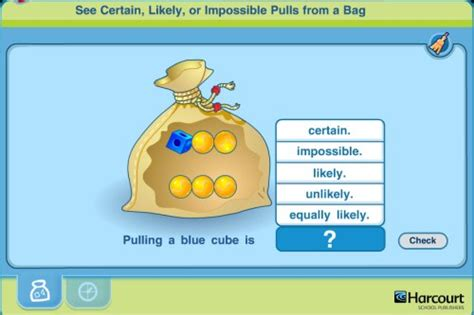 tutorial online game interactive probability math game pull objects from the bag