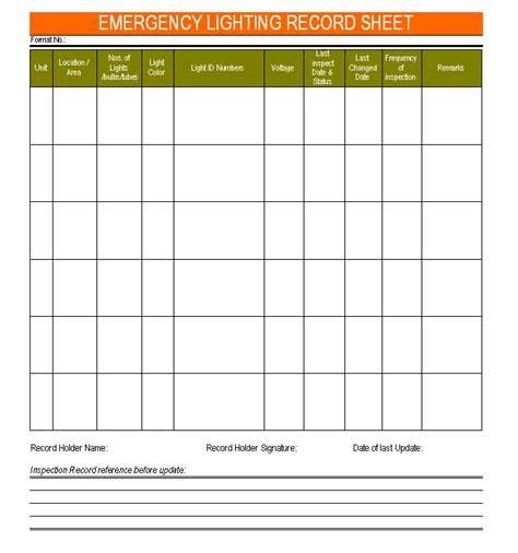 fire drill report template printable home daycare forms