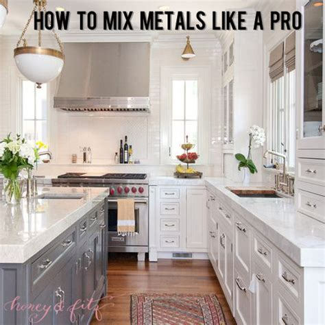 mixed metals kitchen how to mix metals in a kitchen