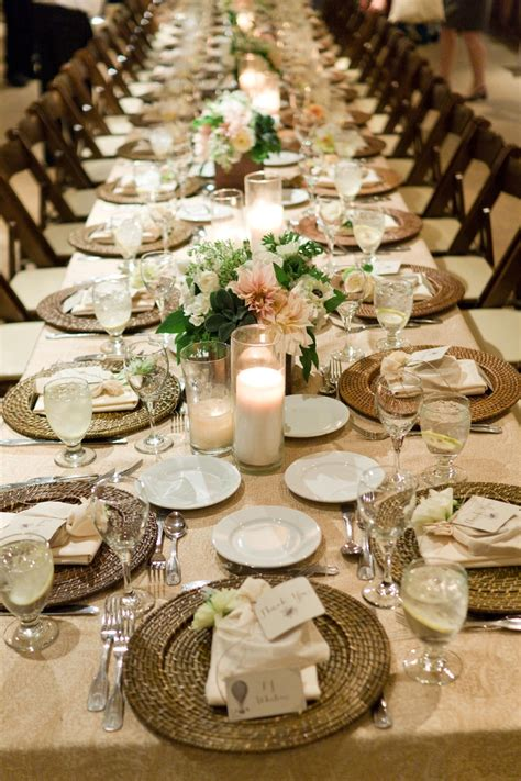 How To Read Decorating Magazine by Rehearsal Dinners Photos Rustic Elegance Tablescape