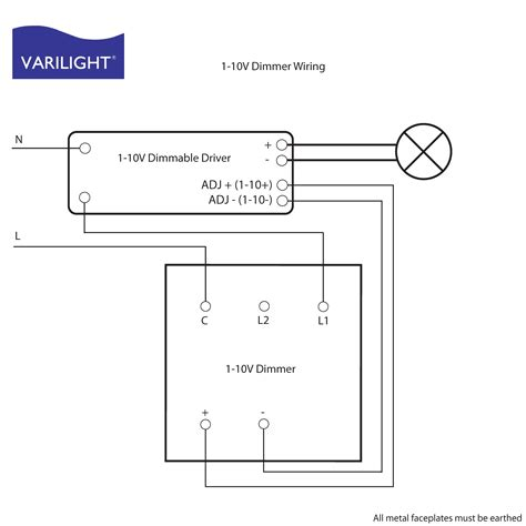 0 10v dimming wiring methods wiring diagram with description
