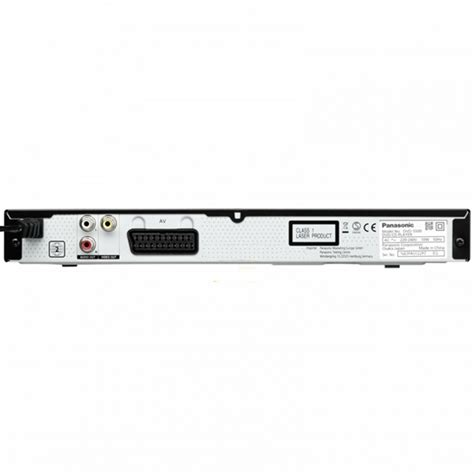 panasonic dvd s500 multi format dvd player with scart cable panasonic dvd s500 compact size region free dvd player