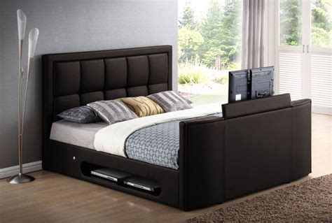 Bed With Tv In Footboard For Sale by Television Design Solutions Interiorzine