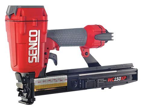 senco air framing stapler pressure range 70 to 120 psi gray 21u141 wc150xp grainger