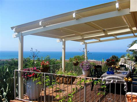 Solara Awnings by Solara Adjustable Covers San Diego Residential Patios