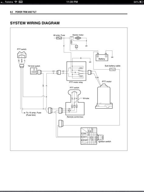 trim limit switch wiring diagram trim sender wiring