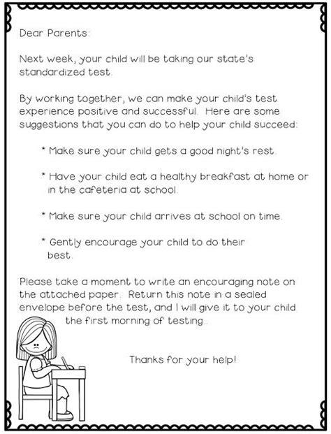 Parent Letter Map Testing as 25 melhores ideias de standardized test no