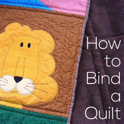 how to bind a quilt shiny happy world