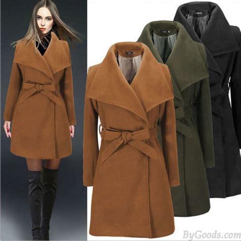 minimalist coat minimalist style waist color wool coat winter