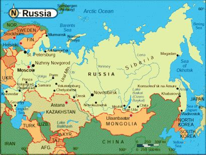 5 themes of geography on russia russia home
