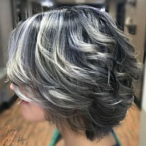 salt and pepper hair with lilac tips 511 best images about my salt and pepper hair on pinterest