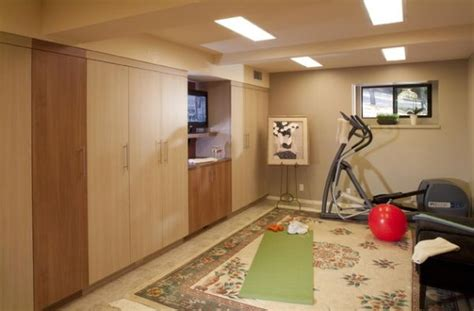small basement ideas small basement home gym and yoga area decoist