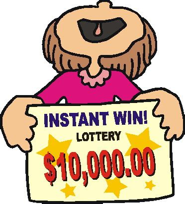 lottery ticket clipart