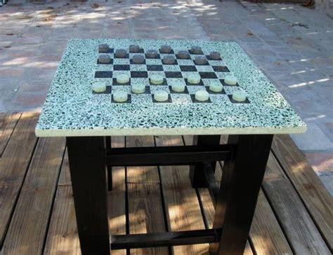 terrazzo bench tops terrazzo concrete checker table polished concrete re