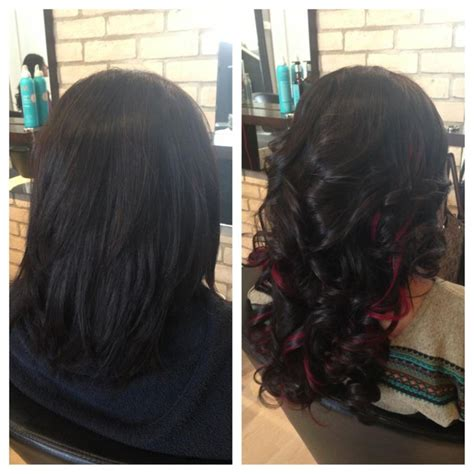 fusion hair extensions before and after before after fusion hair extensions hair pinterest