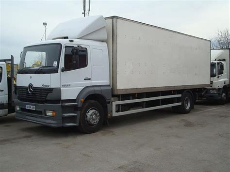 Used Mercedes Trucks by Mercedes Trucks Box Trucks Used Mercedes