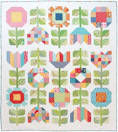 vintage flower pattern quilt bee in my bonnet farm girl friday week 19 new farm
