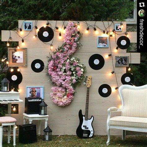imagenes tema musical photocall para boda ideas de espacios divertidos para