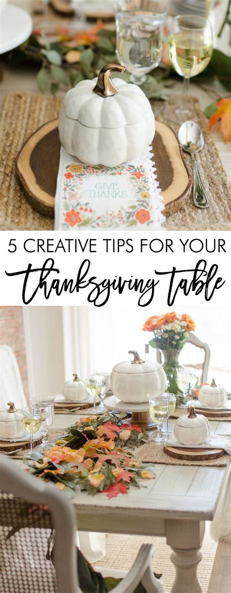 thanksgiving table tips