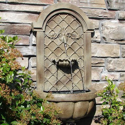 Garden Wall Fountains Fountain Design Ideas Garden Wall Features