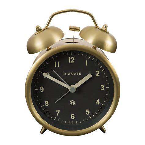 Bell Alarm buy newgate clocks bell alarm clock radial brass amara