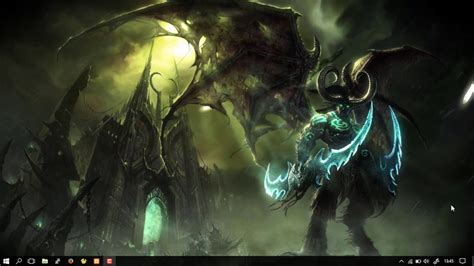 wallpaper engine world of warcraft wallpaper engine illidan stormrage youtube