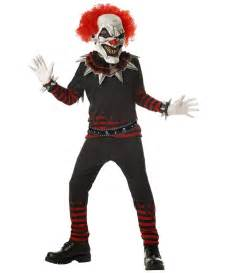 Scary Clown Costumes Clown Evil Kids Costume Boy Clown Costumes